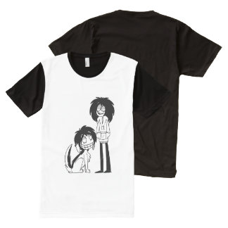 Jeff and Smile All-Over Print T-Shirt