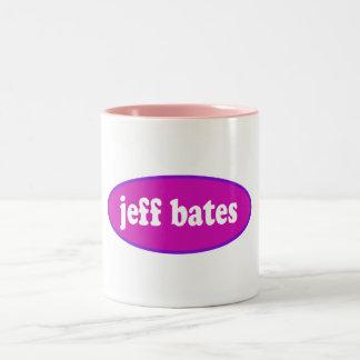 Jeff Bates Pink Coffee Mug