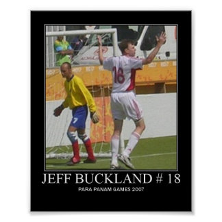 Jeff Buckland Poster