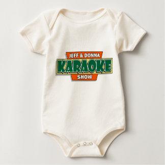Jeff & Donna Karaoke Baby Bodysuit