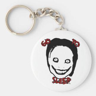 Jeff The Killer Key Ring