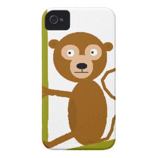Jeff the Monkey iPhone 4 Case