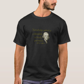 Jefferson shirt (Knowledge is Lovely, Desirable)