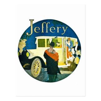 Jeffery Automobiles Advertisement Postcard