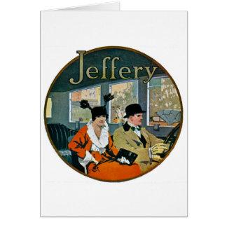 Jeffery Automobiles Advertisement - Vintage Card