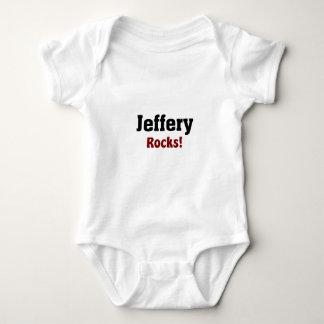 jeffery Rocks Baby Bodysuit
