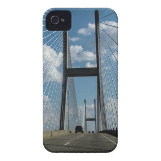 Jekyll Island Cable Bridge iPhone 4 Covers