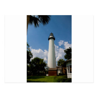 Jekyll Island Georgia Lighthouse Postcard