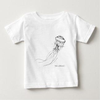Jellyfish Black & White Drawing Shirt