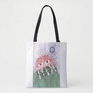 Jellyfish Comb Tote Bag