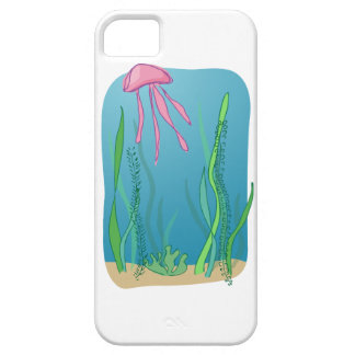 Jellyfish in the sea case for the iPhone 5
