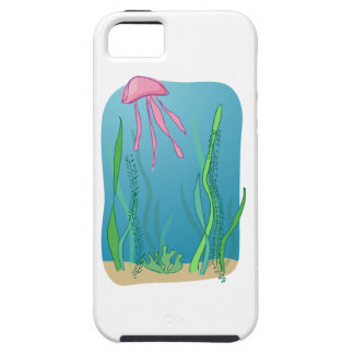 Jellyfish in the sea iPhone 5 case