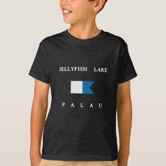 Jellyfish Lake Palau Alpha Dive Flag T-Shirt