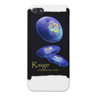 Jellyfish Moon iPhone Case by Raige Creations iPhone 5 Covers