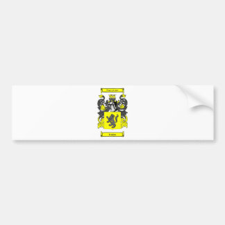Jenkins (English) Coat of Arms Bumper Sticker
