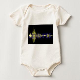 Jennifer Graphic Design for Name Baby Bodysuit