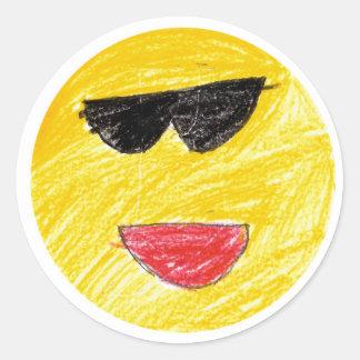Jennifer: Round Sticker
