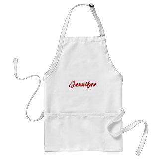 Jennifer's apron