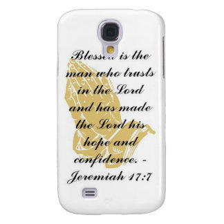 Jeremiah 17:7 iPhone 3 Skin Galaxy S4 Case