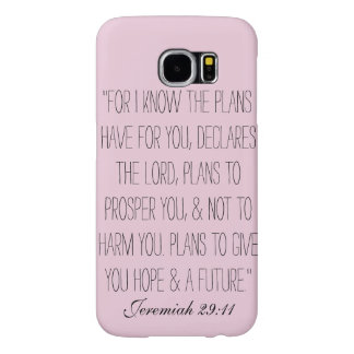 Jeremiah 29:11 samsung galaxy s6 cases