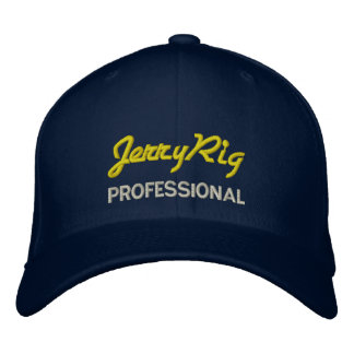 Jerry Rig Professional Embroidered Hat