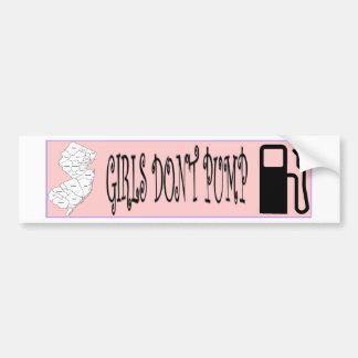 Jersey Girls Don't Pump Gas Bumper Sticker
