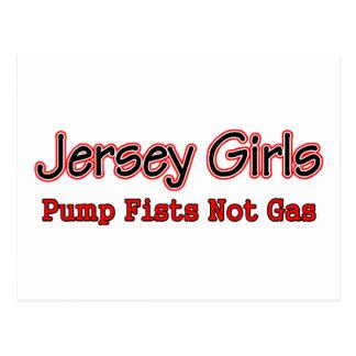 jersey grl fist pump postcard