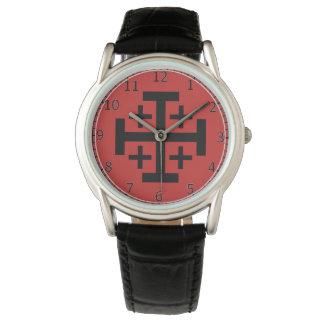 Jerusalem Cross Custom eWristwatch Watch