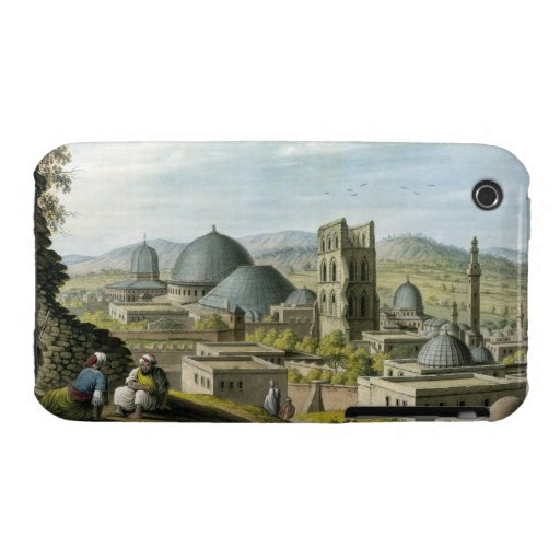 Jerusalem from the West, pub. by William Watts, 18 iPhone 3 Case-Mate Cases