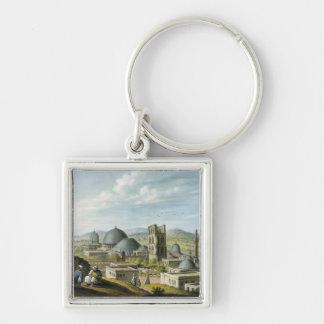 Jerusalem from the West, pub. by William Watts, 18 Key Ring
