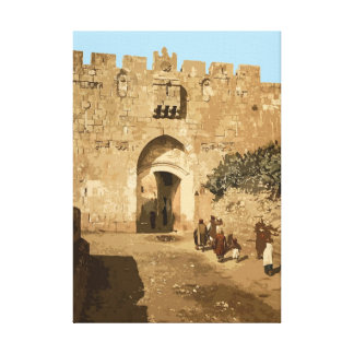 Jerusalem - Lions' Gate Canvas Print