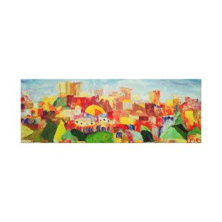 Jerusalem Spring Canvas Print
