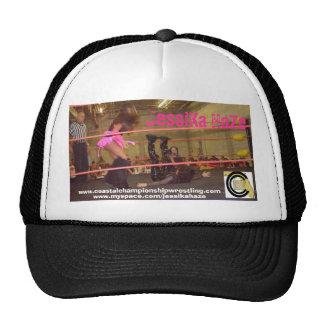 jess4, ccw-logo, JessiKa HaZe, www.coastalchamp... Mesh Hats