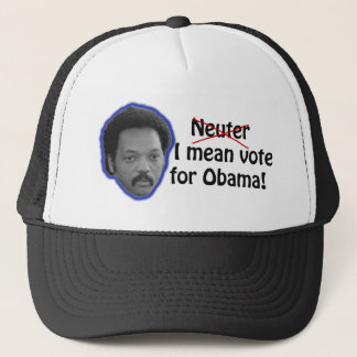 Jesse Jackson & Barack Obama Trucker Hat