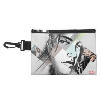 Jessica Jones Face Graphic Accessory Bag