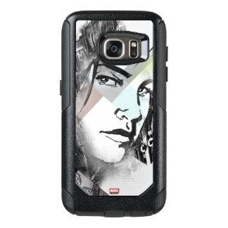 Jessica Jones Face Graphic OtterBox Samsung Galaxy S7 Case