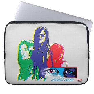 Jessica Jones Multi-Color Character Graphic Laptop Sleeve