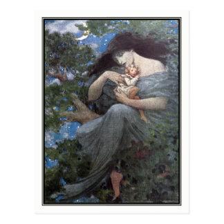 Jessie Willcox Smith - The Great Beech Tree Postcard