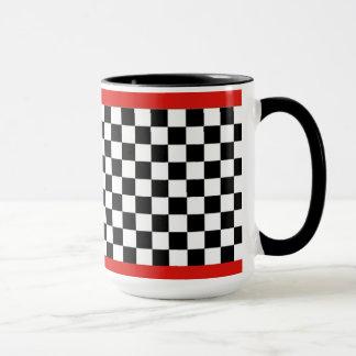 Jester Check Coffee Mug
