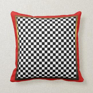 Jester Check Design Pillow