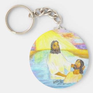 Jesus Baptism Keychains