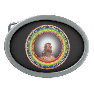 Jesus Belt Buckle. Belt Buckle
