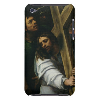 Jesus Carrying the Cross, c.1535 (oil on panel) iPod Case-Mate Cases