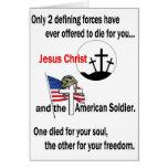 Jesus Christ and the American Soldier