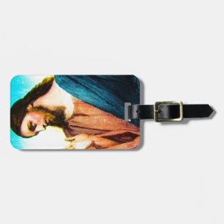 Jesus Christ The Lamb of God Vintage Luggage Tag