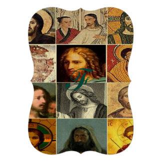 Jesus christ,vintage collage,antique,victorian card
