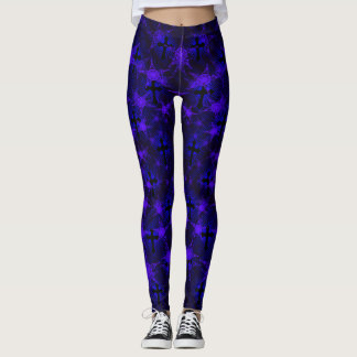 Jesus Fish Stars Leggings