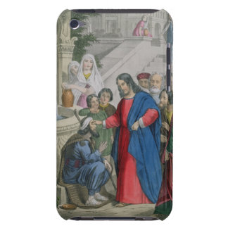 Jesus Gives Sight to One Born Blind, from a bible iPod Touch Covers