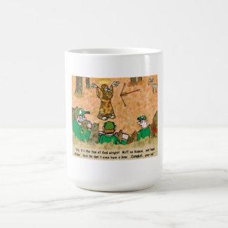 JESUS HUNTING COFFEE MUG