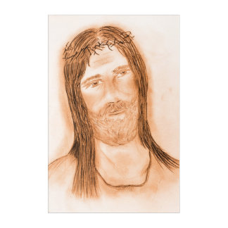 Jesus in the Light Acrylic Print